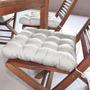 Assento Para Cadeira Futton Confort 40x40cm Natural Eca