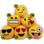 Almofadas Emojis 25cm X 25cm Com Aplicações Bordadas