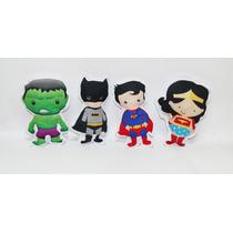 Kit Com 10 Almofada De Super Heróis, Princesas, Vingadores