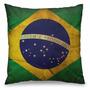 Almofada Decorativa Bandeira Do Brasil Yaay