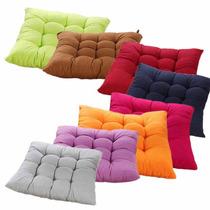 Kit 10 Almofadas Futon Assento Decoração De Sofá E Cadeiras