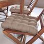 Assento Para Cadeira Futton Confort 40x40cm Ráfia Ecaz
