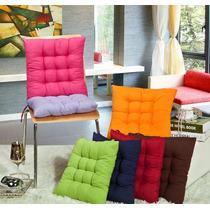 Kit 8 Almofadas Futon Assento Para Cadeiras 100% Poliester