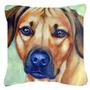 Rhodesian Ridgeback Tecido Decorativa Pillow 7437pw1818