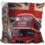 Almofada Decorativa Londres 42cm X 42cm