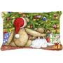 Ursos De Peluche Do Natal Com Árvore Decorativa Tecido Pill