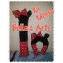 Kit Protetores Pescoço+cinto Segurança Baby Minnie Ou Mickey