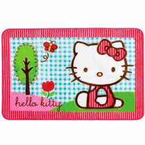 Tapete Oriental Hello Kitty Parque Jolitex Decoração Quarto