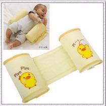 Almofada Para Bebês Protege O Pescoço Anti Refluxo Rolamento