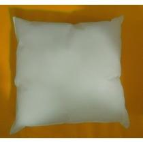 Capa Para Sublimação+ Refil Fibra Virgem Siliconada 30x30 Cm