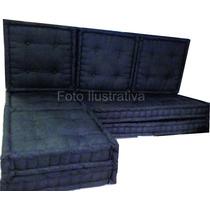 Futons Almofadas Encostos Assentos - Sob Encomenda