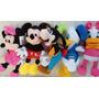 Kit Cinco Pelúcias Turma Disney
