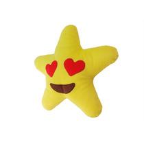Emoji Do Amor Estrela De Pelúcia Com Seu Nome No Verso
