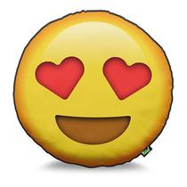 Almofada Emoji Olhar De Coração Emoticon