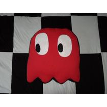 Almofada Pacman(pac Man) - Fantasma Blink