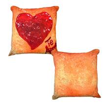 Almofada Travesseiro De Fibra Coração 40 Cm *07120