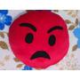 Almofadas Emojis 30cm X 30cm Zangado