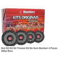 Kit Auto Falantes Familia Bomber Gol G2, G3 E G4