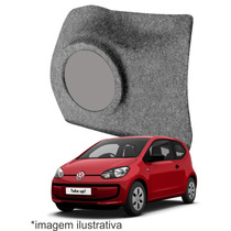 Caixa De Fibra Lateral Reforçada Volkswagen Up Ld 8 Polegada