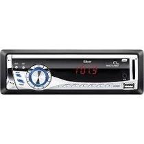 Radio Silver 4x45w Fm/mp3/usb/aux/sd Multilaser