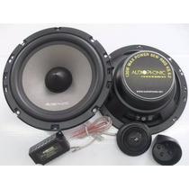 Kit 2 Vias Audiophonic Sensation Ks 6.2 130w Rms 6.5 +rca