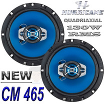 Alto Falante Hurrikane 6 New Class 130w Rms Auto Carro Kit!!