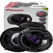 Kit Auto Falante Pioneer Triaxial 6x9 Polegadas 200w Rms Par