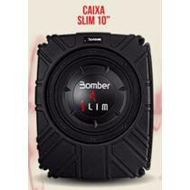 Caixa Selada Bomber Slim 10 - 200 Watts Rms