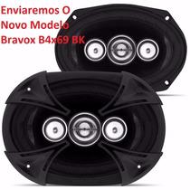 Par De Alto Falantes 6x9 Quadriaxial Bravox B4x 69t 250w Rms