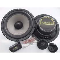 Kit 2 Vias Audiophonic Sensation Ks 6.2 130w Rms 6.5