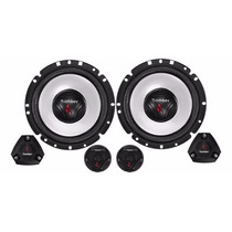 Kit Duas Vias Bomber Upgrade Two Way 6 Pol 120 Rms + Tweeter