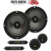 Alto Falante Kit 2 Vias Bravox Black Cs-60-b-k 6 190 Rms