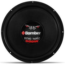 Alto Falante Subwoofer Bomber 15 800w Rms Bicho Papão Dupla