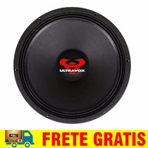 Woofer Ultravox 15 220 Rms Profissional 8 Oh Medio Grave Sub
