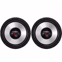 Kit Duas Vias 200w Rms Tweeter Bomber 6 Pol Two Way Upgrade