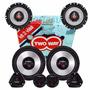 Kit Alto Falante 6 + 5 Polegadas Upgrade 320w Rms + Tweeter