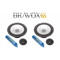 Alto Falante Bravox Cs 60d Kit 2 Vias 140 Rms Par