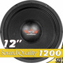 Woofer 12 Ultravox Sound Quality 1200 Rms Sq1212 8 Ohms Som
