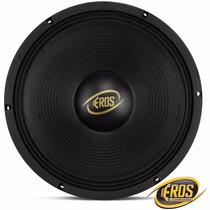 Alto Falante Eros 12´ 450w Rms 4 Ohms E-12 450 Lc Black