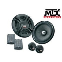 Kit 2 Vias Mtx 6¨ T6s602 400w. Crossover Mid Bass E Tweeter