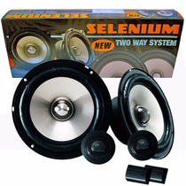 Kit 2 Vias Selenium 62v2a 120w Rms Tweeter + Crossover