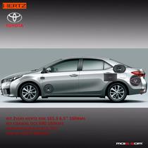 Kit Som Hertz 5.1 Corolla - Hcp 5d Dsk 165.3 Sub 12