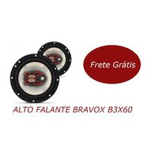 Kit Par Bravox B3x60 Falante 6 Polegadas Original Ford Gm Vw