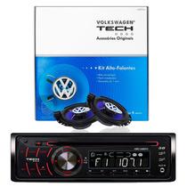 Kit Volkswagen C/ Cd Player + Alto-falantes P/ Gol G5 E G6