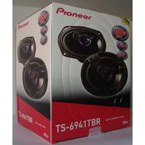 Par Alto Falante Pioneer Ts-6940br Triaxial 6x9 400w