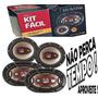 Kit Facil Bravox 4 Auto Falante Triaxial Quadriaxial +brinde
