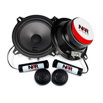 Kit 2 Vias Nar Audio 525 Cs1 Falante + Tweeter + Crossover