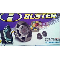 Alto Falante Kit 2 Vias 5 Mid Bass H-buster Mb540 180w Rms