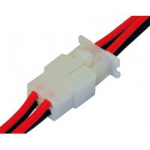 Chicote Conector 4 Vias P/ Conexão Caixas De Som Automotiva