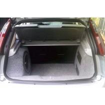 Caixa De Fibra Lateral Alongada Fiat Punto (até 2015)